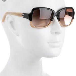 Chanel 5177 Bi-color Colorblock Square Sunglasses